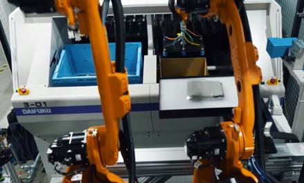 El dispositivo robotizado que logra doblar prendas