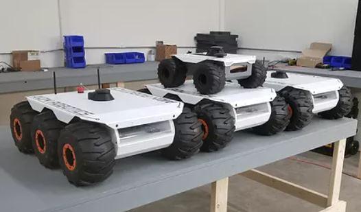 El robot explorador M6 UGV que puede desplazarse por cualquier terreno