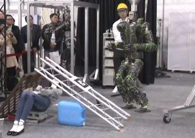 Kawasaki crea el robot humanoide Kaleido especializado en salvamento a seres humanos